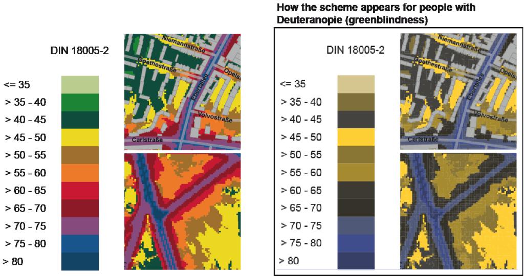 scheme of DIN 18005-2:1991